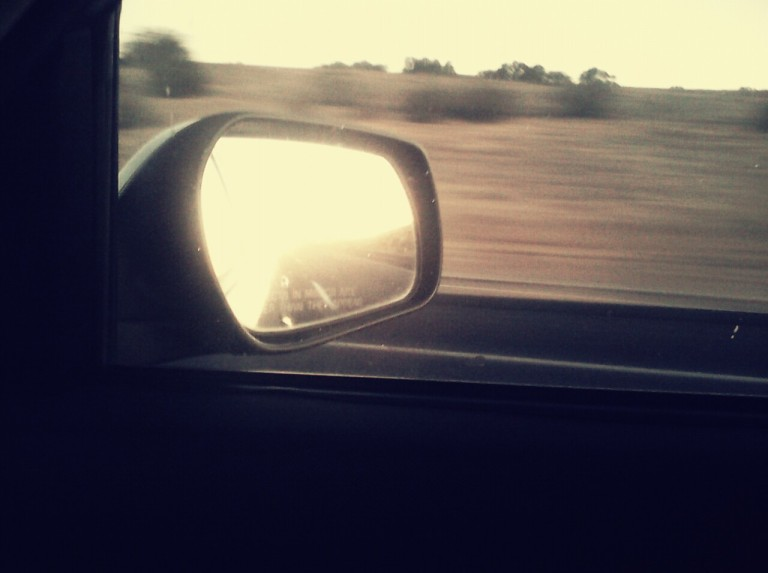 Through the rearview