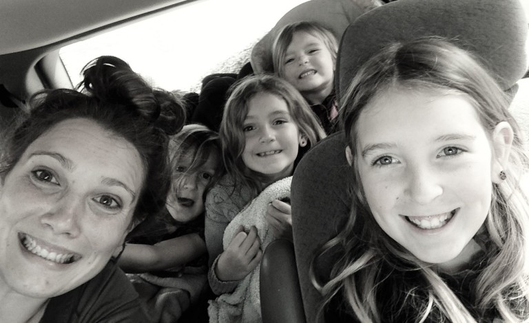 Heading to LAX with these little nieces!